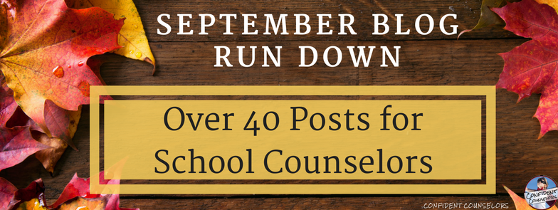 School Counseling Blog Posts