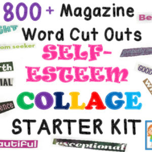 Self-Esteem Collage Kit