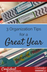 3 Organization Tips