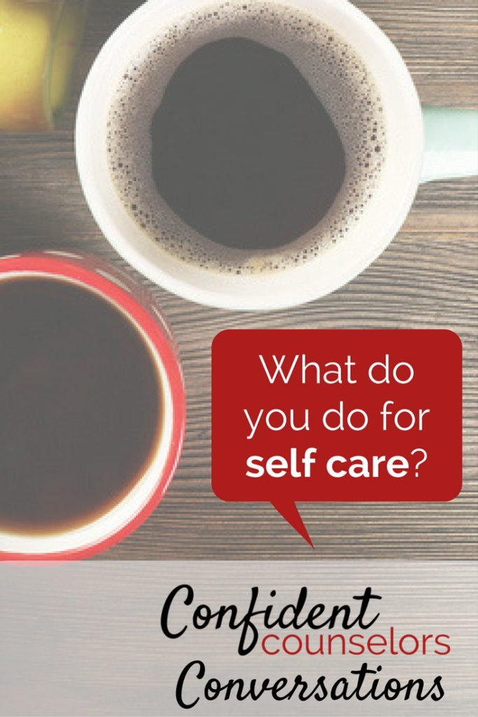 Confident Counselors Conversation - Self Care with School Counseling Files, Speckled Moose Counseling, and The School Counselor Is In