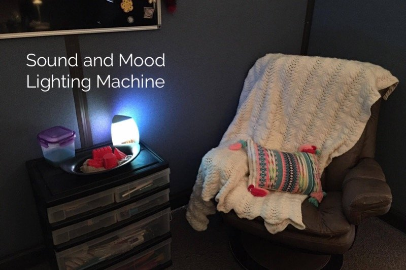 a sound machine is a school counseling office must-have