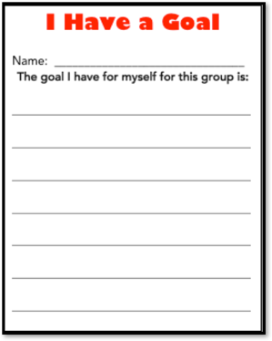 teaching study skills and setting goals with students