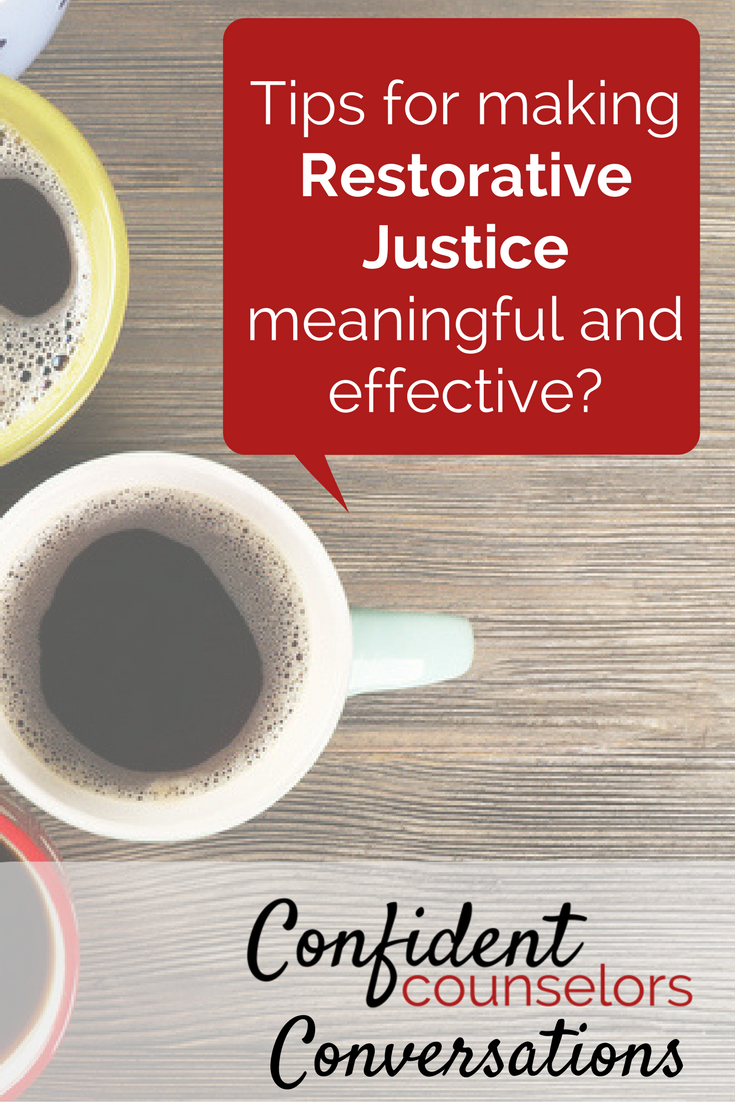 making restorative justice effective and meaningful