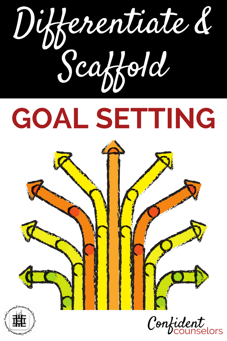 It is essential at the high school level to go beyon a one size fits all model for goal setting and differentiate and scaffold so all students have an opportunity to set goals that work for them.