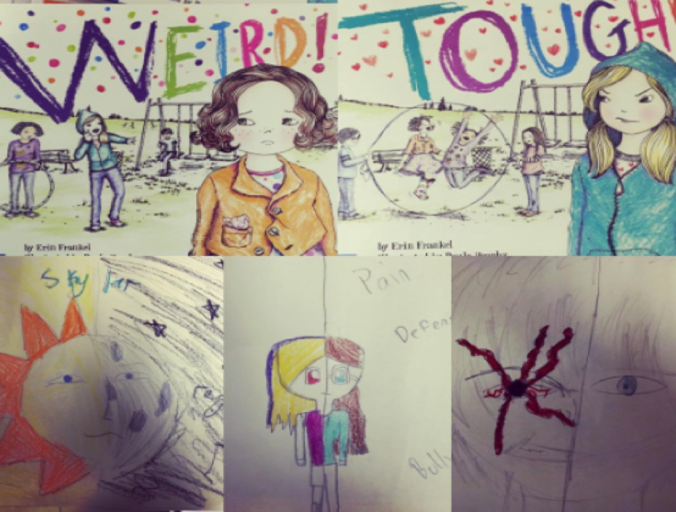 Art Activity to go along with the Weird! Book Series
