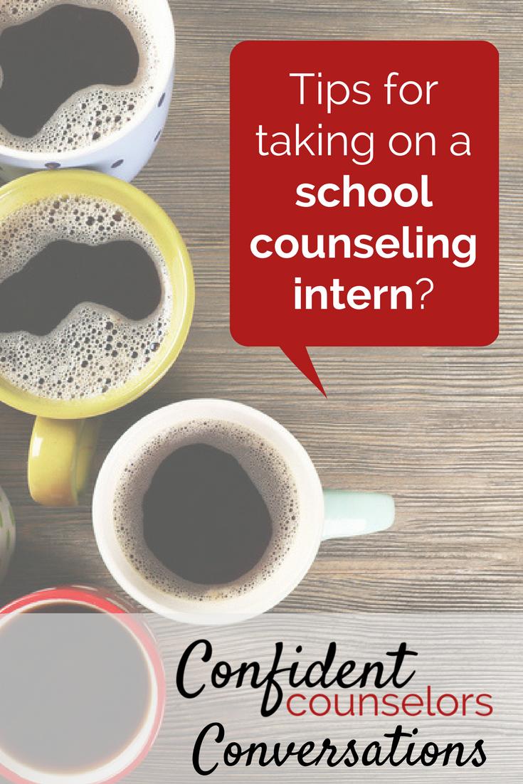coffee conversation: school counseling intern