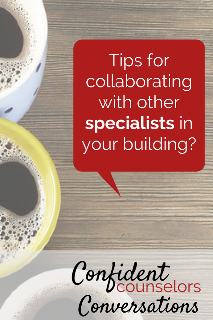 collaborating with specialists.