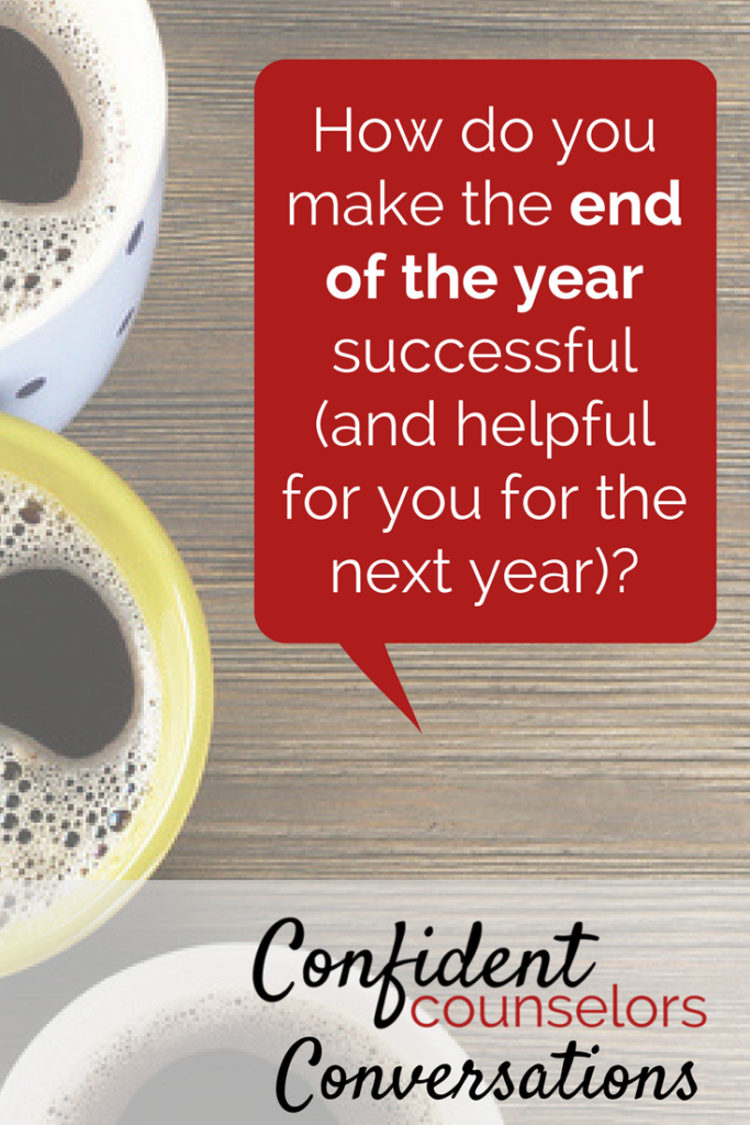 coffee convo: end of the year question