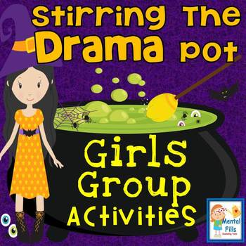 girls group activities poster