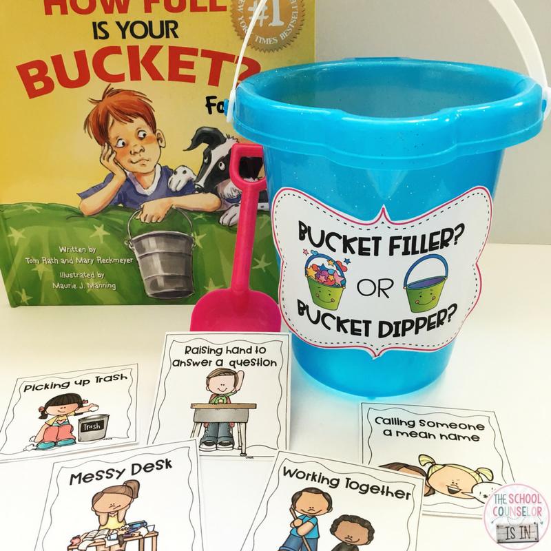 bucket filling lesson
