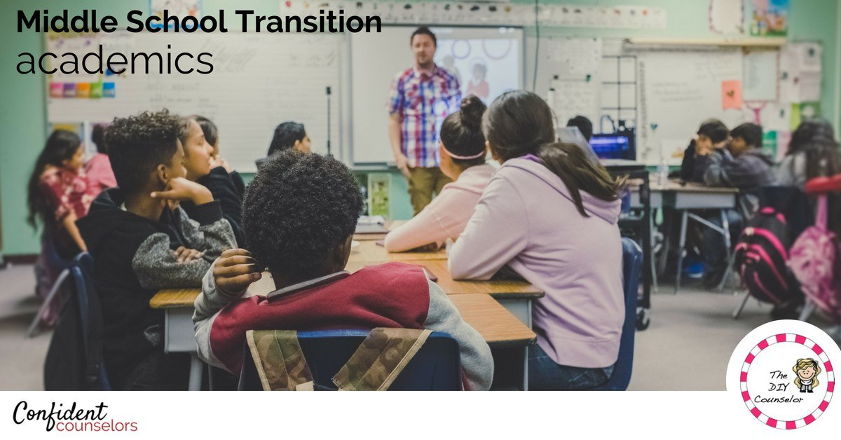 Middle school transition ideas and activities