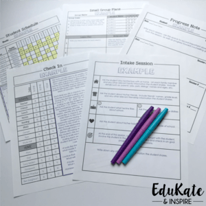 School Counselor Documentation Resources