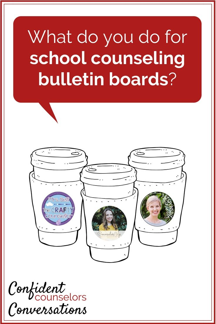 Do you put up school counseling bulletin boards? Do you have boards on growth mindset, friendship, or your school motto? Let's share ideas for bulletin boards!