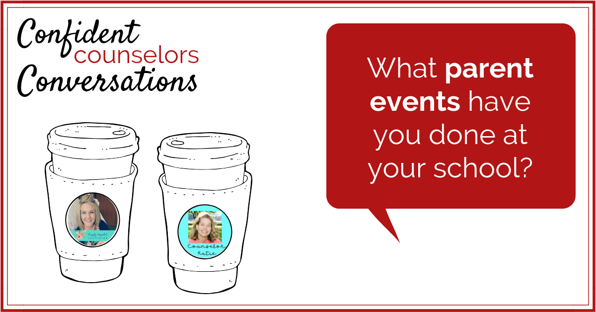 As a school counselor what parent events have you done? Running parent events can be a great way for a school counselor to extend and reinforce their school counseling program. Here are some ideas for parent events school counselors can run.