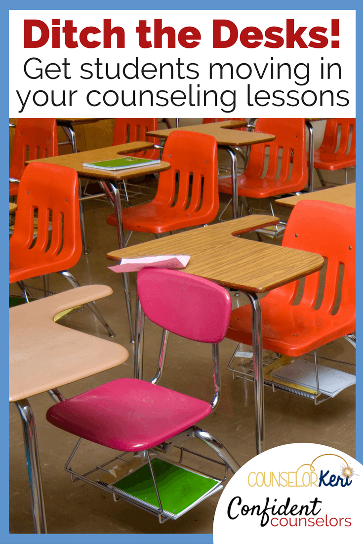 Get your students moving during counseling lessons! Maximize engagement with hands-on movement based counseling activities for retention and student buy-in.