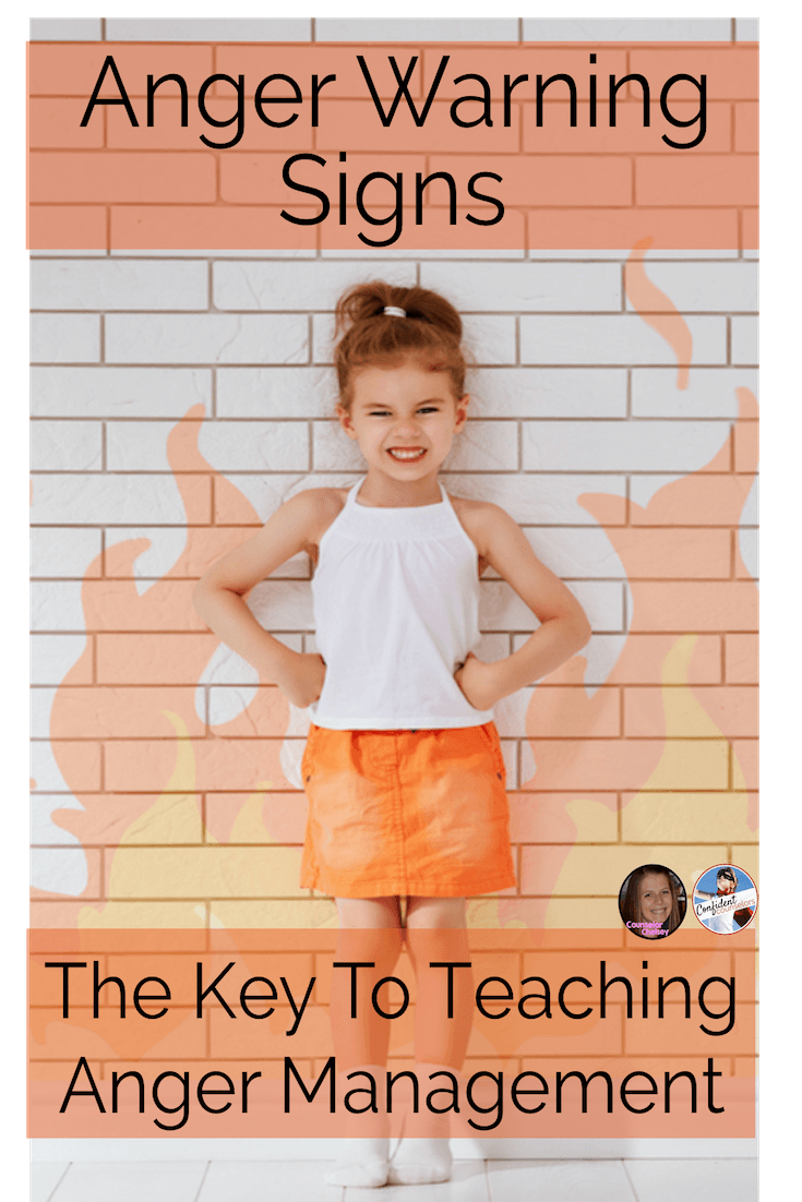 Use anger warning signs to help your students recognize their anger and learn when to use their coping skills to manage their anger!
