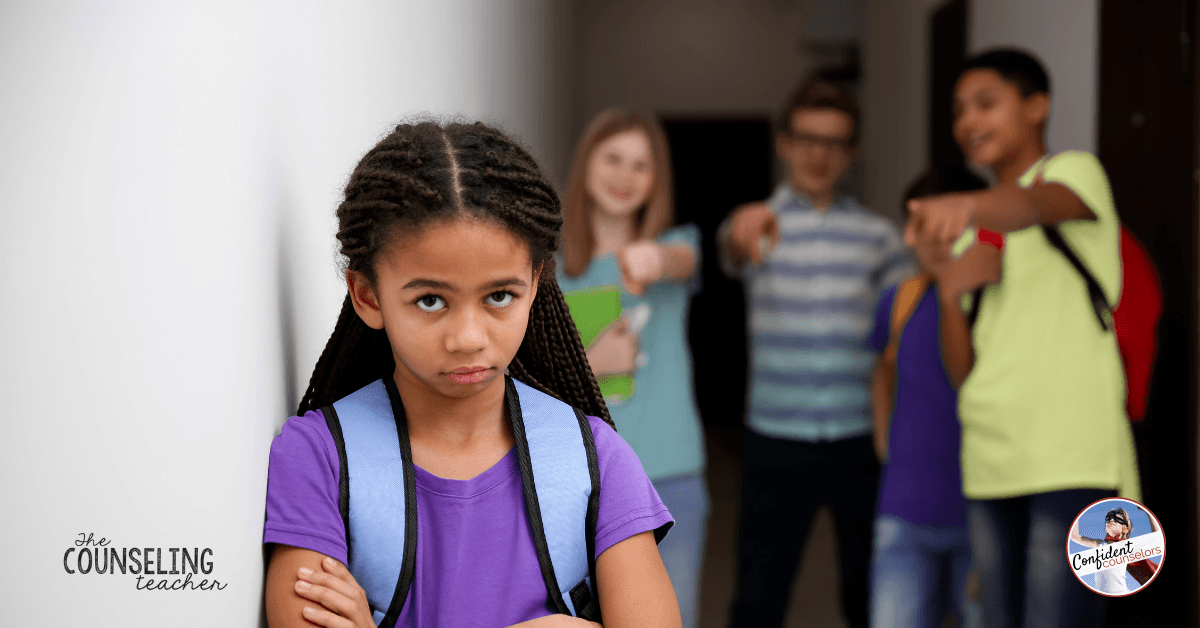 Empower students to report bullying and control their reactions