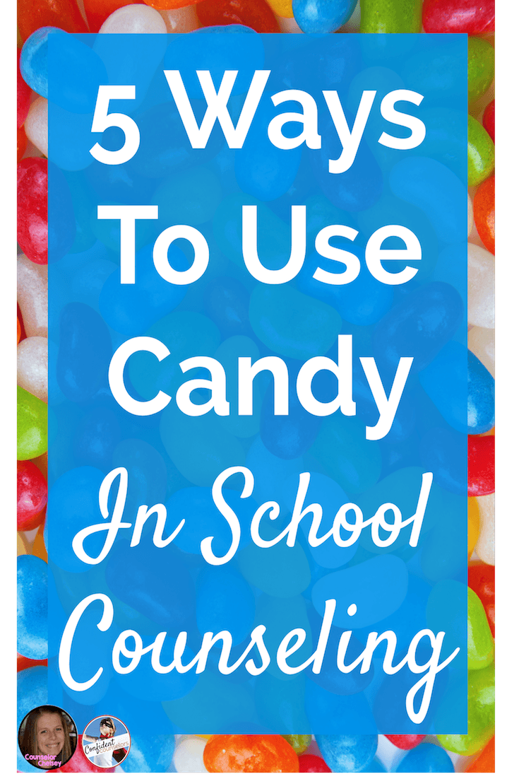These 5 school counseling activities using candy will help your students learn social emotional skills in a creative and engaging way!