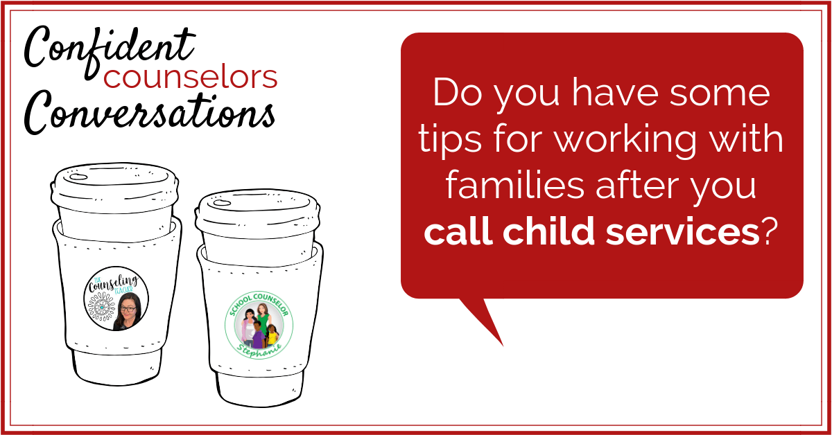 Be prepared when calling child services. As a school counselor you may have to report abuse or neglect. The family may be angry or confused. Be prepared for this conversation with these simple tips.