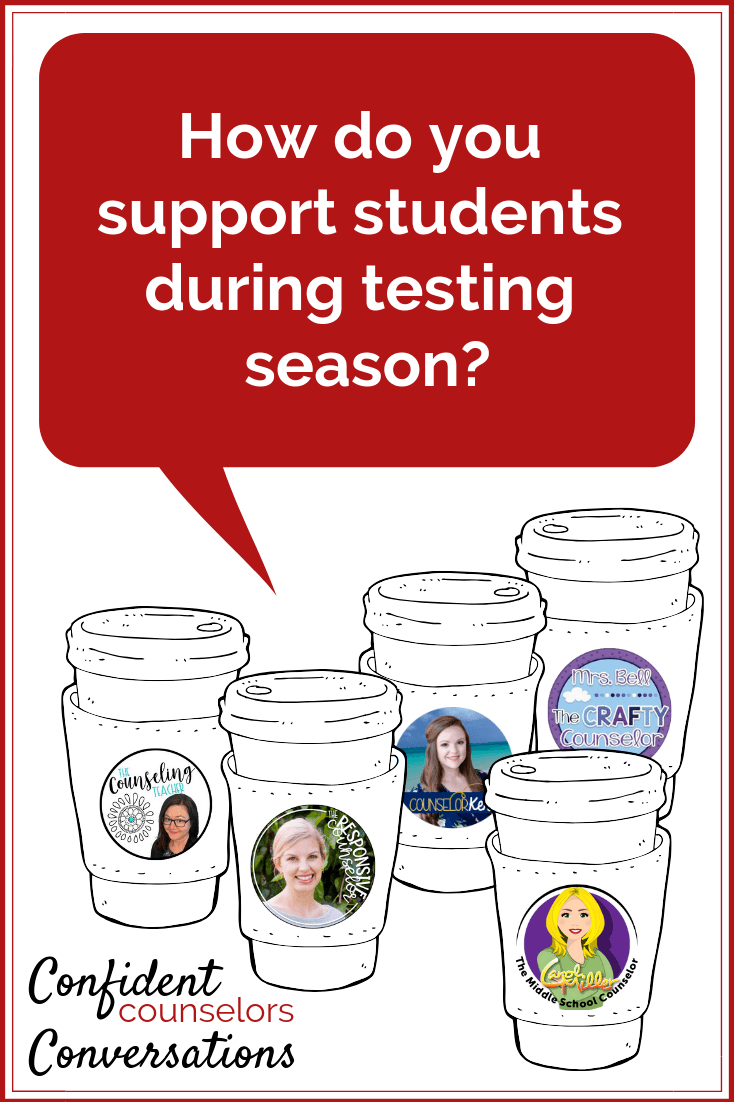 How do you support students with test taking anxiety as high stakes tests are on the horizon. These confident counselors support students with test anxiety.