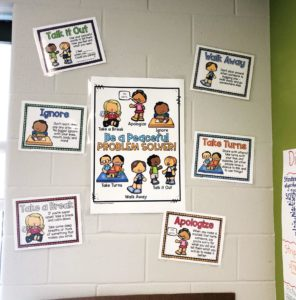 classroom conflict strategies