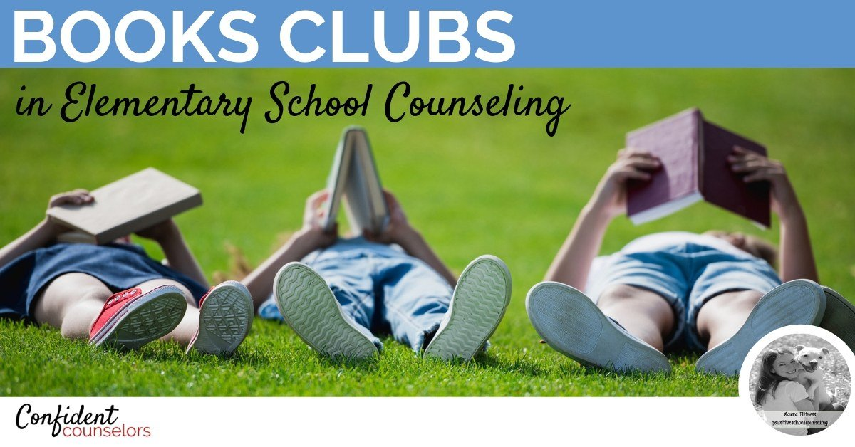 5 tips for starting a school counseling book club in elementary school.