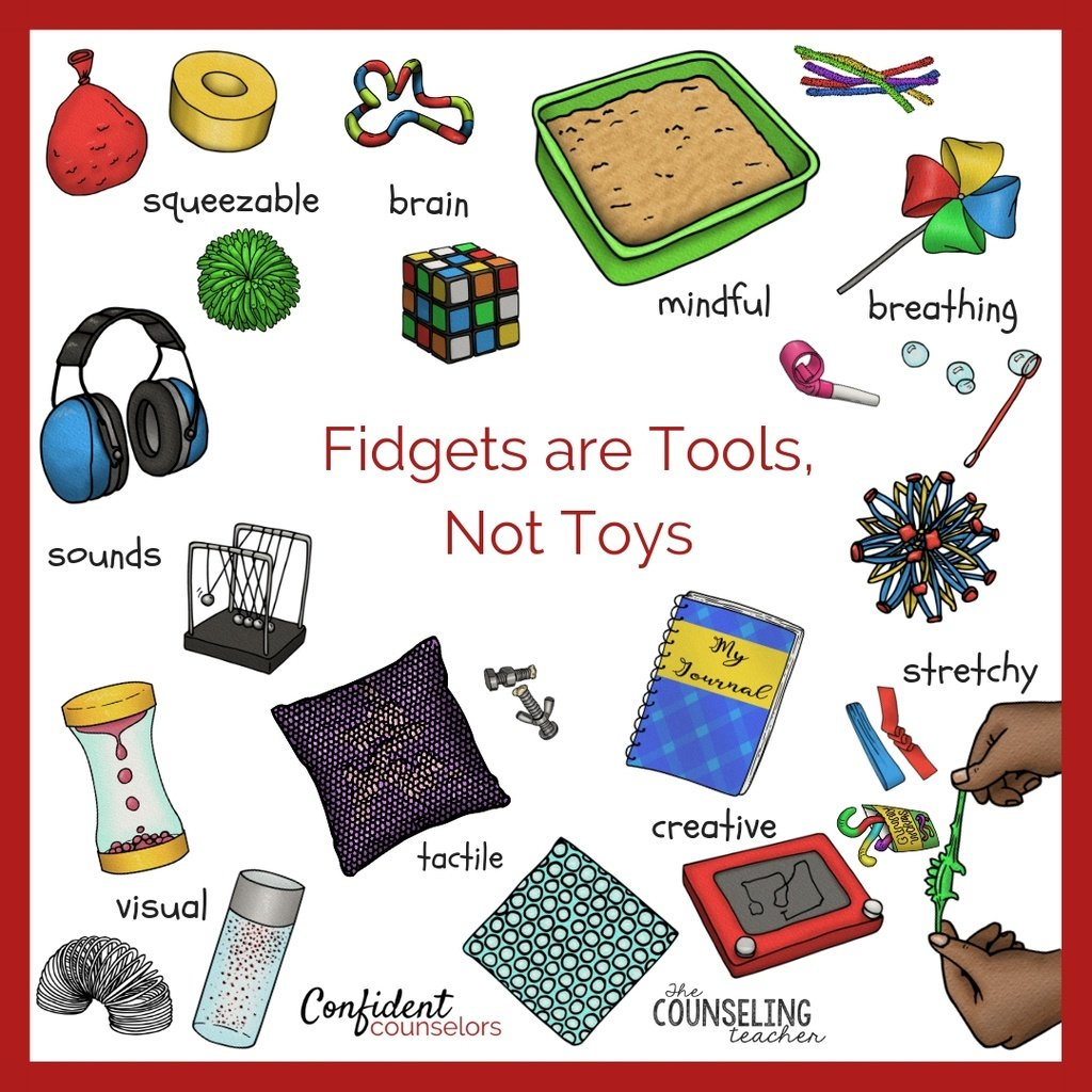 fidget tools in the classroom