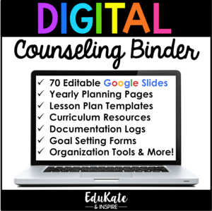 Digital Counseling Binder for Counselor Organization