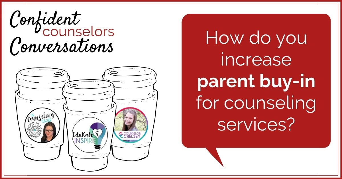 Parent buy-in for school counseling services can be challenging if parents have preconceived ideas about what a school counselor does and why someone would go to counseling. Check out these suggestions from three confident counselors about communicating clearly and consistently with parents about your school counseling program.