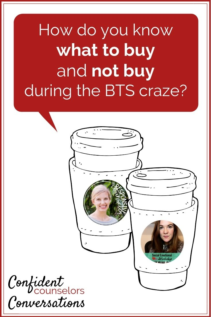 How do you know what to buy  and not buy  during BTS ?