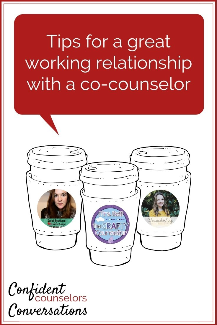 tips for working with a co-counselor