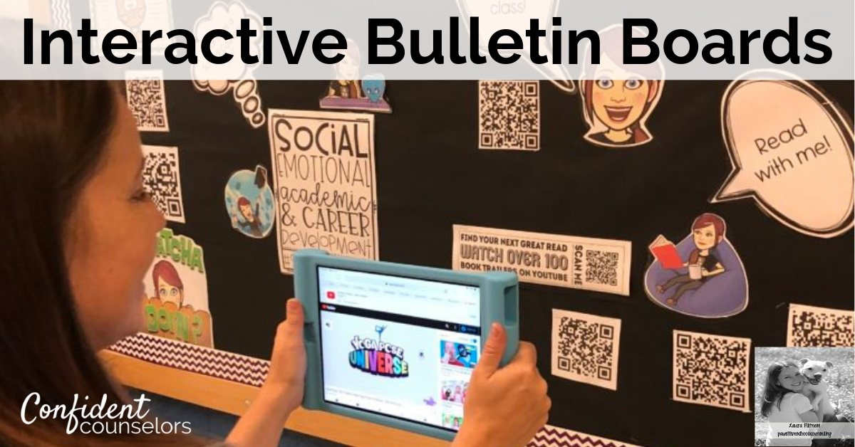 Interactive School Counseling Bulletin Boards