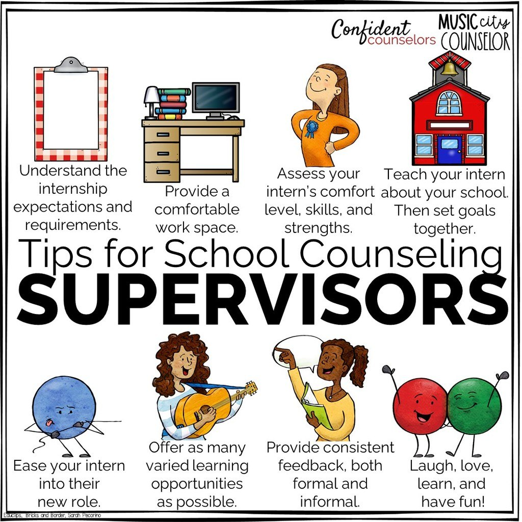 tips for school counseling supervisors